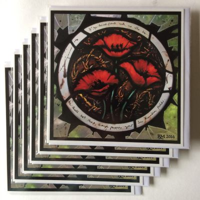 Rachel-Mulligan-6xGreetings Cards - Poppies
