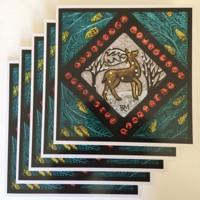 Rachel_Mulligan_cards_Deer_pack