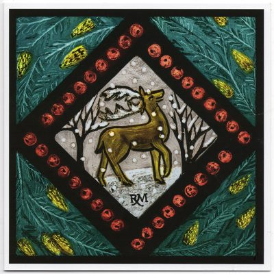 Rachel_Mulligan_cards_Winter_Wildlife_Deer
